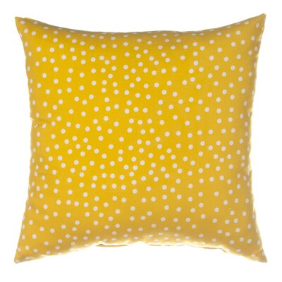 Traffic Jam Dot Throw Pillow