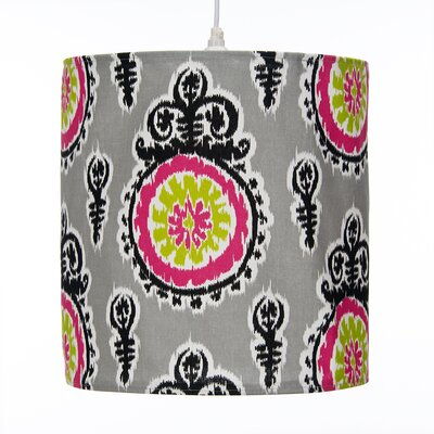Pippin Hanging 14 Fabric Drum Pendant Shade
