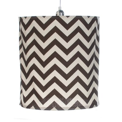 Traffic Jam Hanging 14 Fabric Drum Pendant Shade
