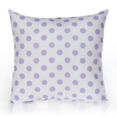 Fiona Large Dot Cotton Throw Pillow
