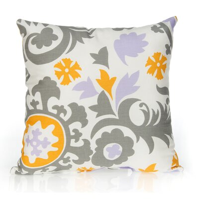 Fiona Suzani Cotton Throw Pillow