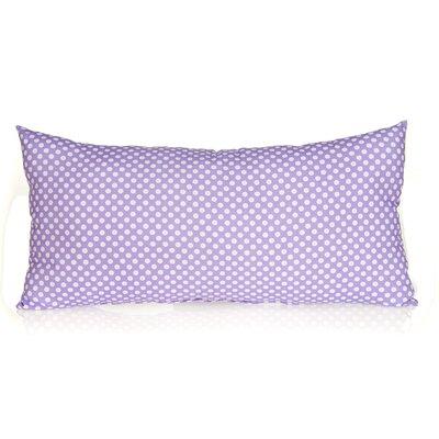 Fiona Rectangular Micro Dot Cotton Lumbar Pillow