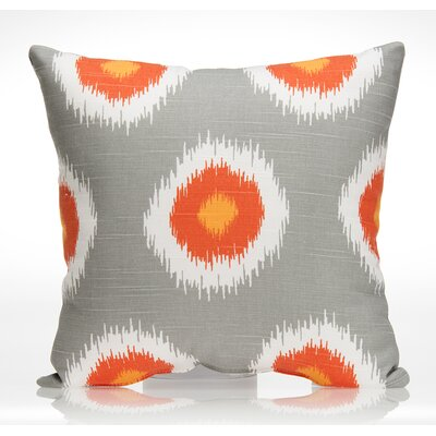 Rhythm Cotton Throw Pillow 13714
