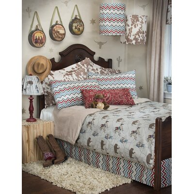 Happy Trails Reversible Duvet Size: Full/Queen