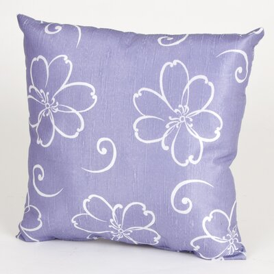 LuLu Flower Cotton Throw Pillow