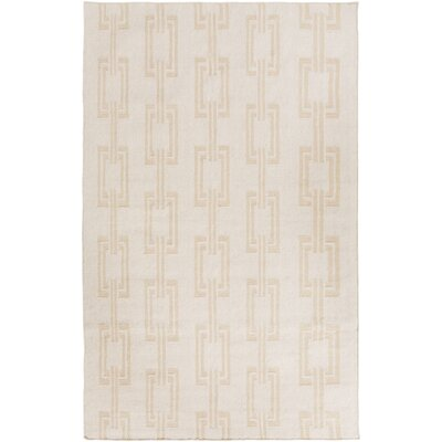 Boardwalk Light Gray/Olive Area Rug Rug Size: 33 x 53