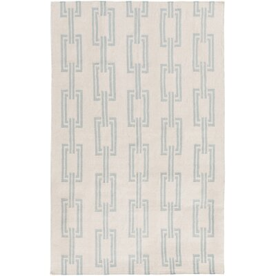 Boardwalk Beige Coastal Area Rug Rug Size: 2 x 3