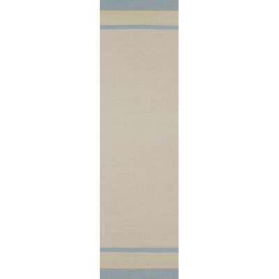 Boardwalk Sea Foam Area Rug Rug Size: Runner 26 x 8
