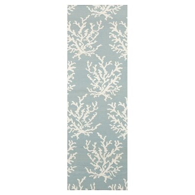 Boardwalk Blue Area Rug Rug Size: Runner 26 x 8