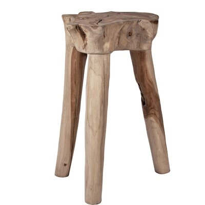Decorative Tall Tripod End Table