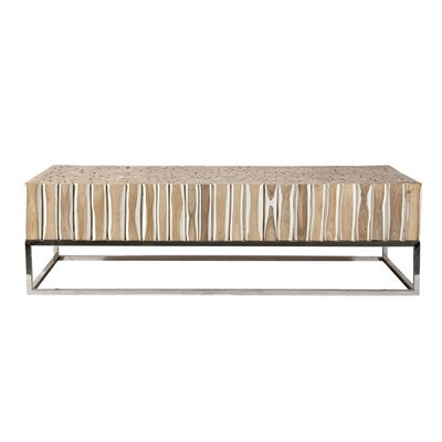 Coffee Table  Size: 16 H x 55 W x 25.5 D