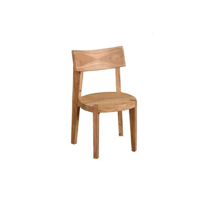 Frozen Solid Wood Dining Chair