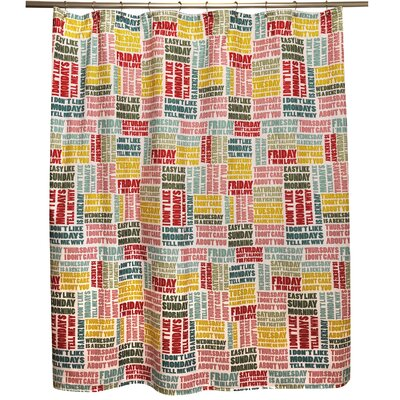 Weeks Shower Curtain