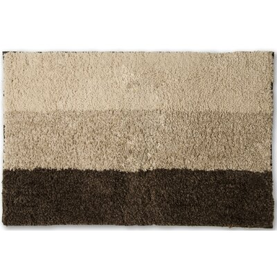 Alys Bath Rug Color: Bronze