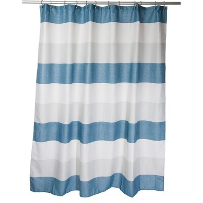 Evan Shower Curtain Color: Gray