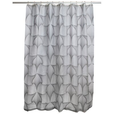 Jacalyn Shower Curtain Color: Black