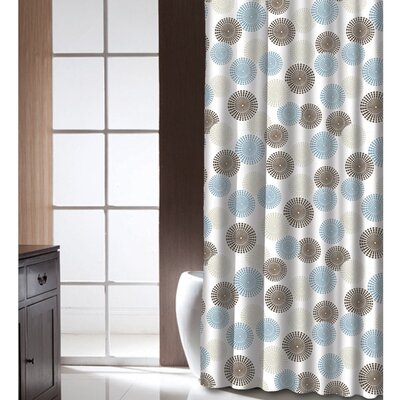 Chelwood Shower Curtain Color: Blue