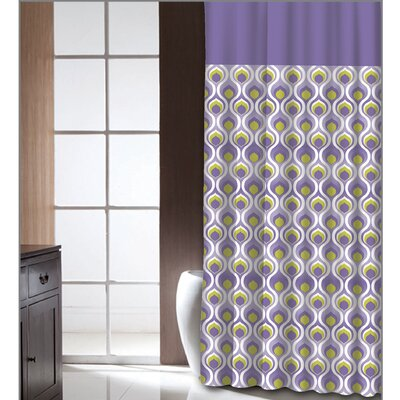 Chelseaville Curved Dusk Shower Curtain