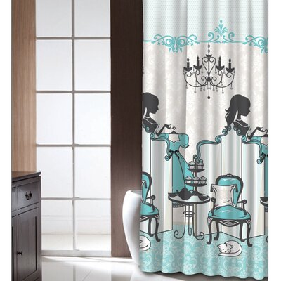 Cherene Tea Time Shower Curtain