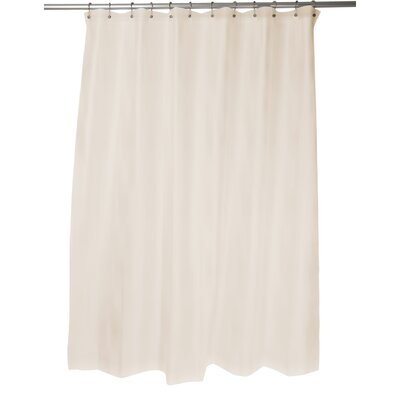 Shower Curtain Liner Color: Beige