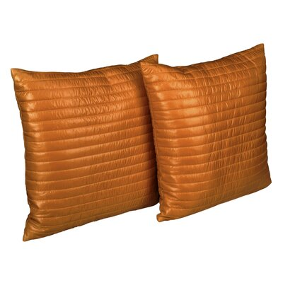 Sisk Quilted Decorative Indoor/Outdoor Throw Pillow Color: Gold