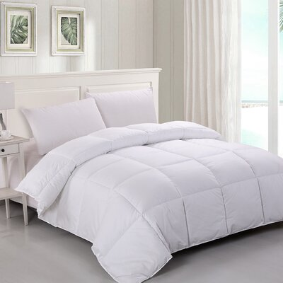 400 Thread Count Midweight Down Alternative Comforter Size: Twin