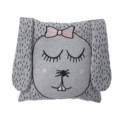 Ferm Living Kids Little Ms. Rabbit Jersey Throw Pillow