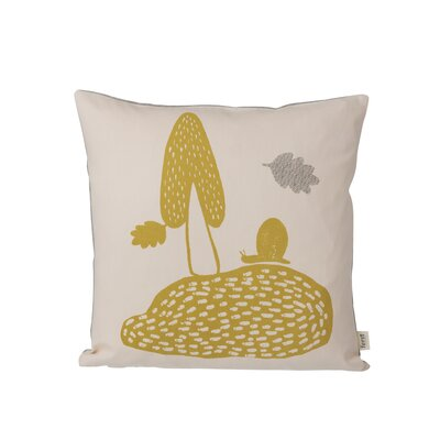 Ferm Living Kids Landscape Cotton Throw Pillow