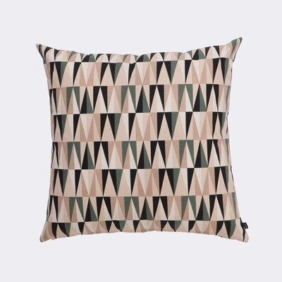 Ferm Living Spear Cotton Throw Pillow Color: Rose