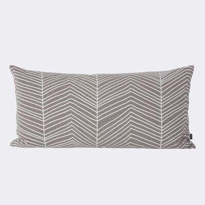 Ferm Living Herringbone Cotton Lumbar Pillow