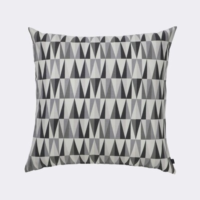 Ferm Living Spear Cotton Throw Pillow Color: Grey