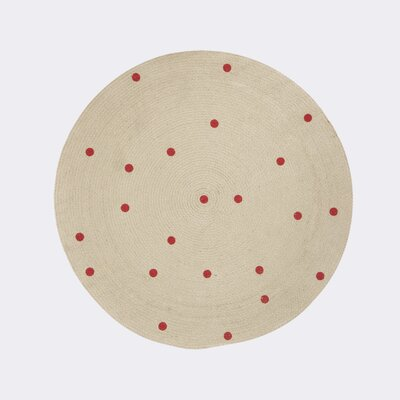 Ferm Living Kids Beige Area Rug