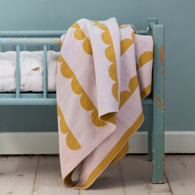 Ferm Living Kids Little Half Moon Cotton Blanket