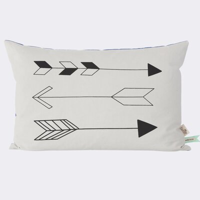 Ferm Living Kids Native Arrow Cotton Lumbar Pillow