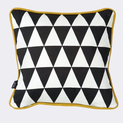 Ferm Living Little Geometry Cotton Throw Pillow
