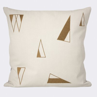 Cone Cotton Throw Pillow Color: Mint
