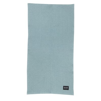 Organic Cotton Hand Towel Color: Dusty Blue