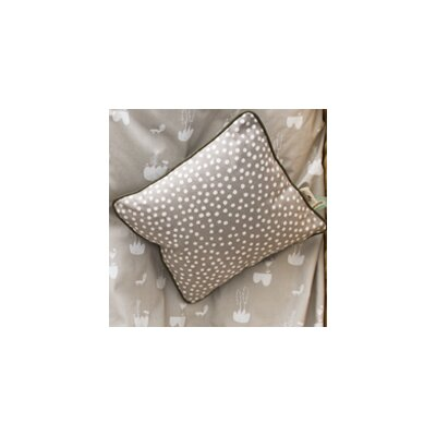 Ferm Living Kids Dots Cotton Throw Pillow Color: Gray