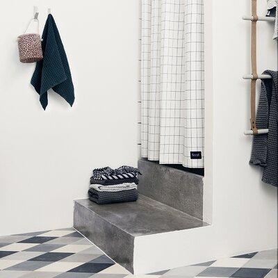 Scantrends Ferm Living Cotton Grid Shower Curtain Set 9148