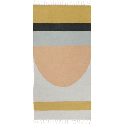 Hand-Loomed Area Rug Rug Size: Rectangle 27 x 47