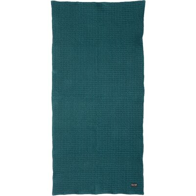 Organic Cotton Bath Towel Color: Petrol