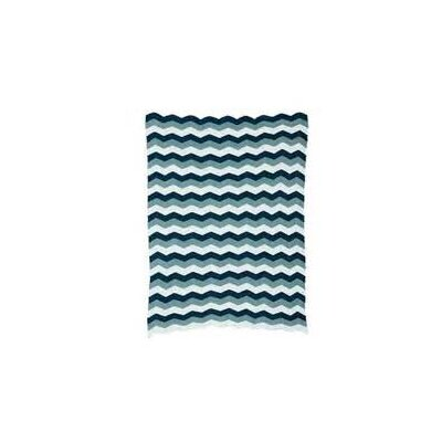 Ferm Living Kids Knitted Zag Cotton Blanket