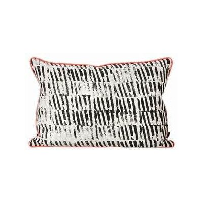 Ferm Living Worn Stripe Cotton Lumbar Pillow