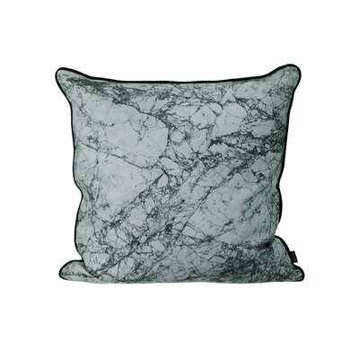 Ferm Living Marble Silk Throw Pillow Color: Dusty Blue