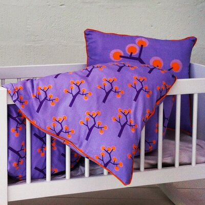 Graphic Tree Baby Coverlet F40-3