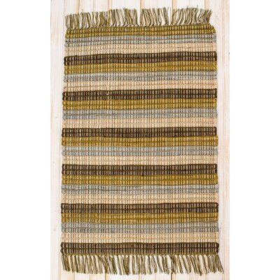Contempo Earth Area Rug Rug Size: 2' x 3'
