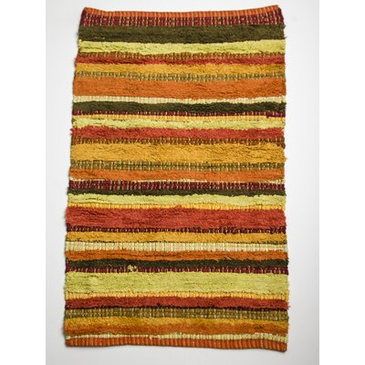 Bossa Nova Tangerine Area Rug Rug Size: Rectangle 26 x 42