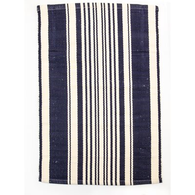 Lexington Navy/Ivory Indoor/Outdoor Area Rug