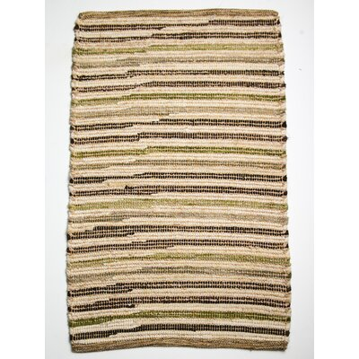 Paris Sand Pebble Area Rug Rug Size: 26 x 42