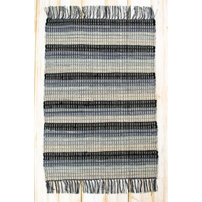 Contempo Slate Area Rug Rug Size: Rectangle 26 x 42